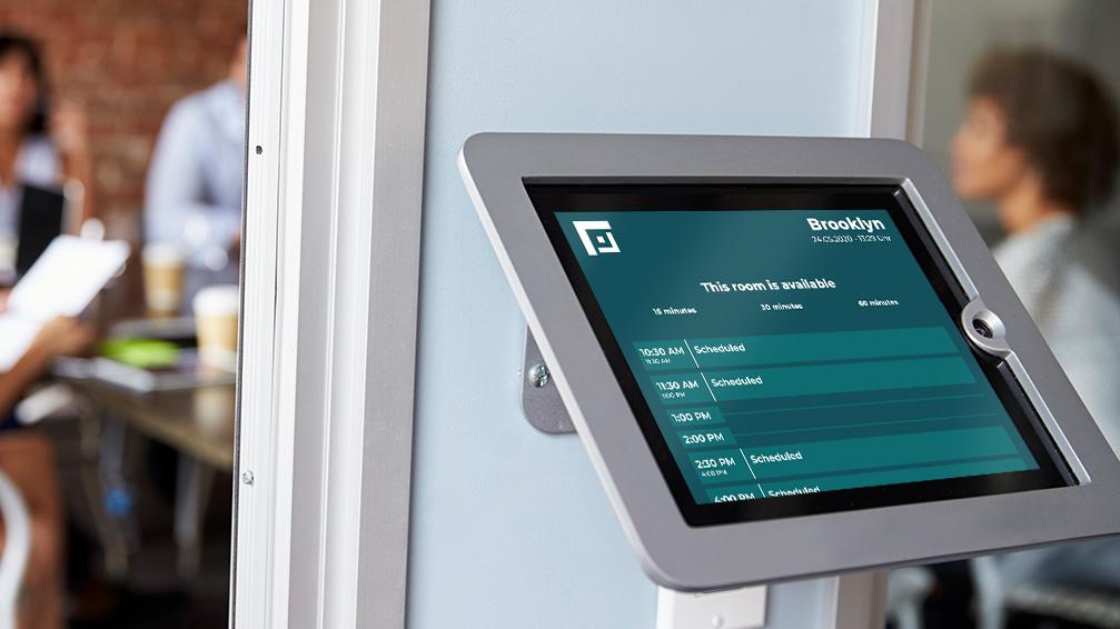 iPad Conference Room Booking Display